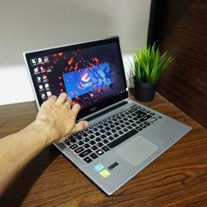 Laptop Acer Aspire V5-471PG Core i5 Touch White