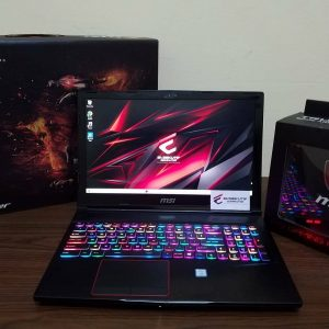 Jual laptop MSI GE63 7RFX RAIDER